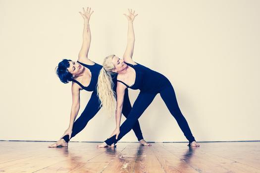 yoga trojúhelník